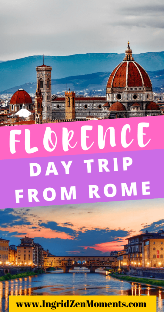 Take the perfect Florence from Rome day trip - planning a day trip from Rome to Florence and want help with the the information you need? Read this guide including Italy travel tips, what to do on a day in Florence, what to see in Florence, how to get from Rome to Florence by train and much more.