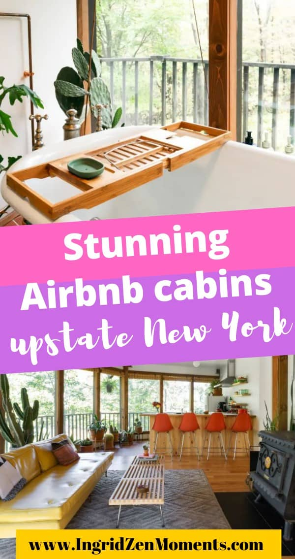 Stunning airbnb cabins in upstate New York