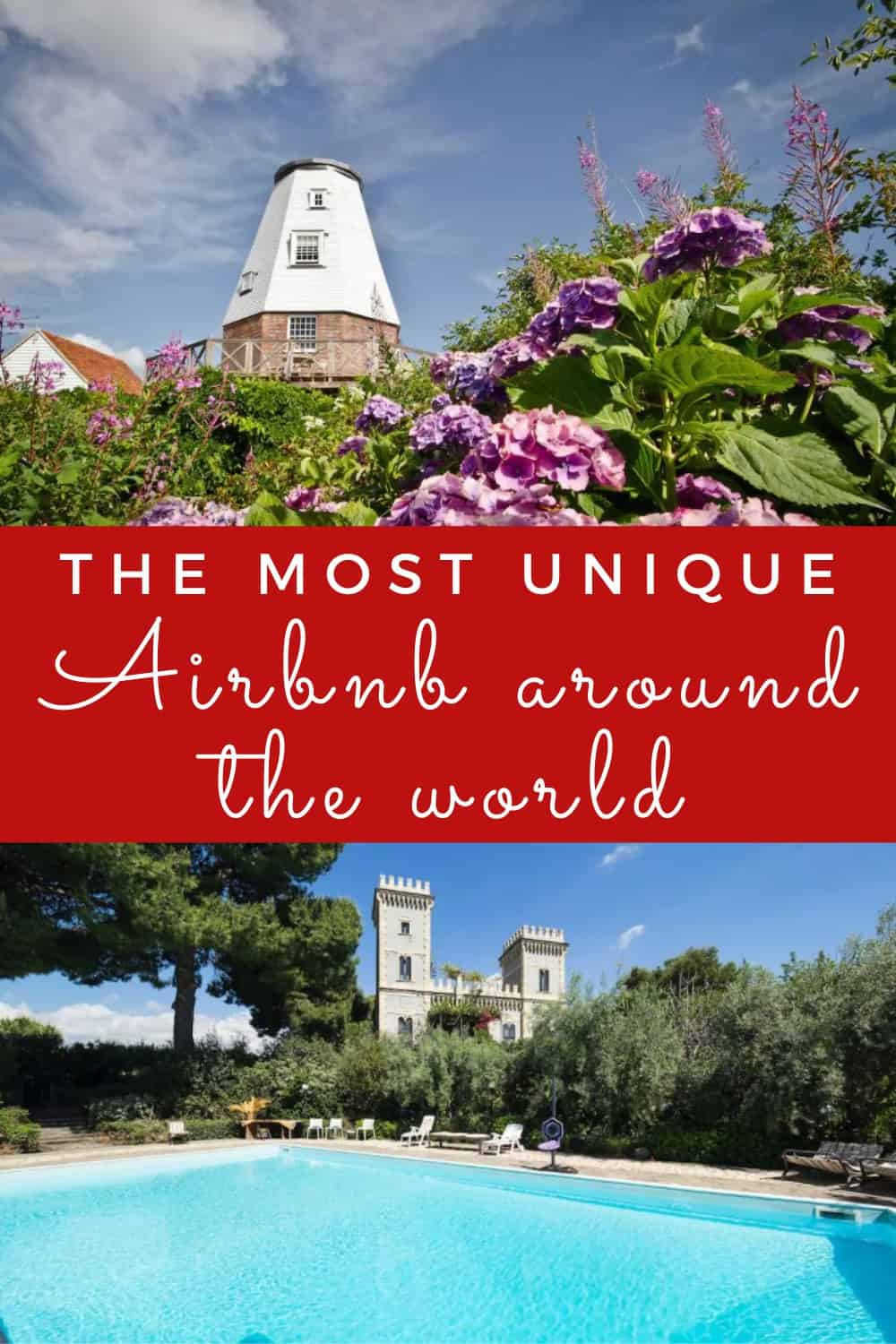 The most unique Airbnb around the world