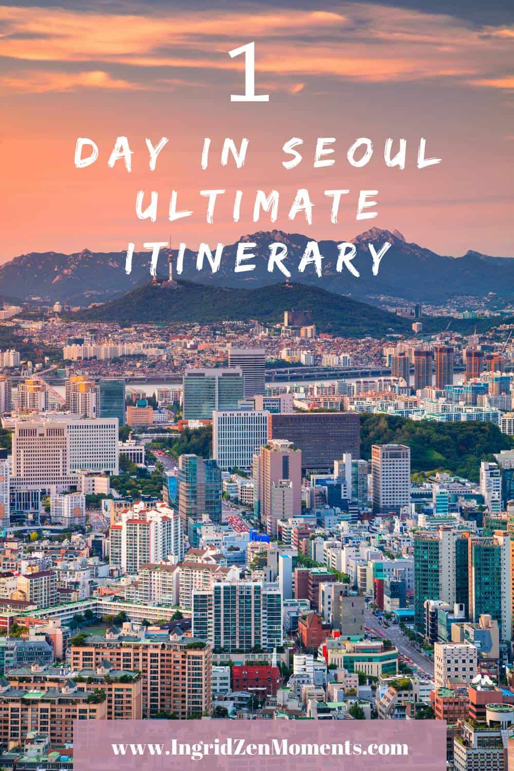 Seeing Seoul in one day