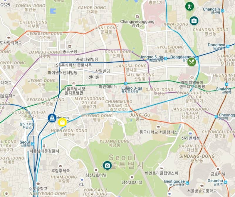 1 day in Seoul itinerary_option 2