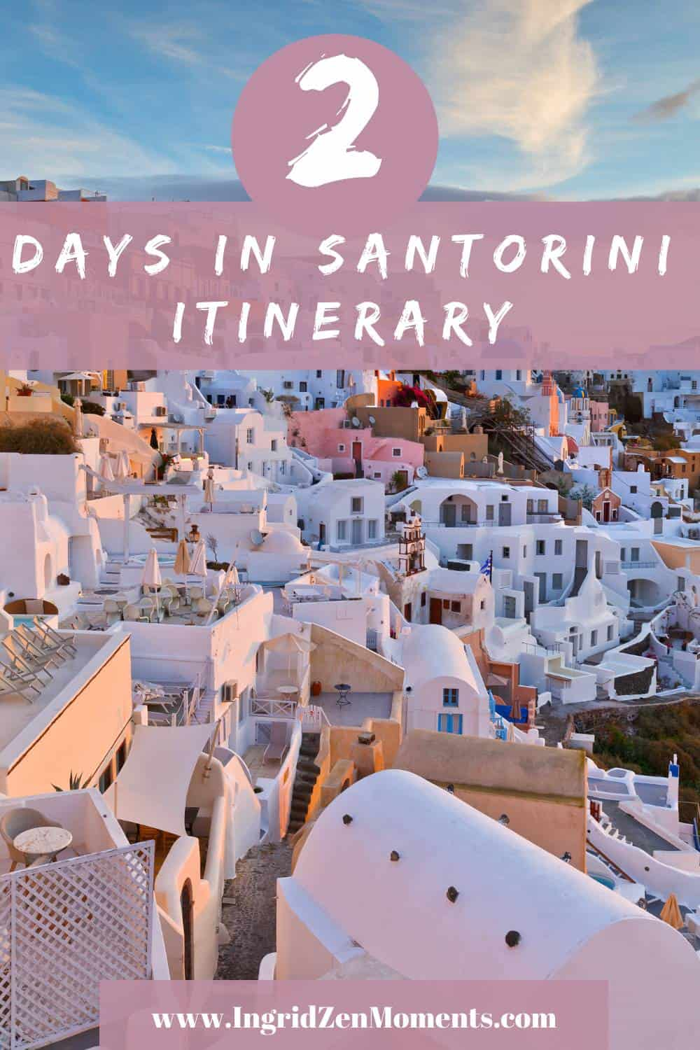 2 days in Santorini itinerary guide
