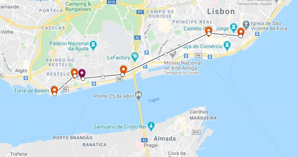 Day 1 of your 2 days in Lisbon itinerary