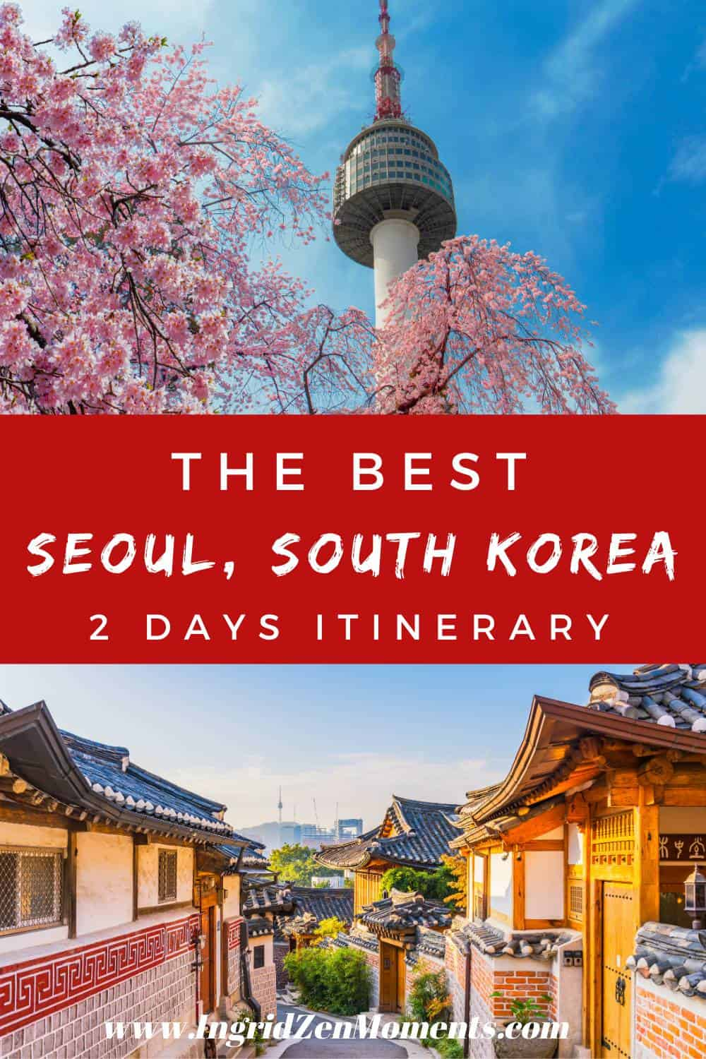 2 days itinerary Seoul, South Korea