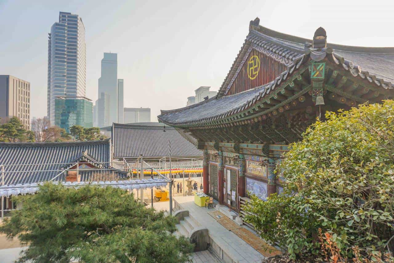Bongeunsa Temple_2days in Seoul