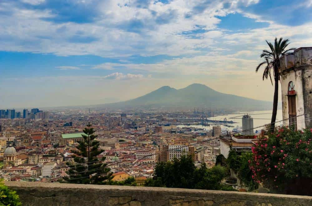 Naples from Rome