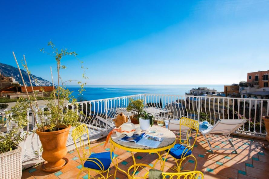 where to stay in Positano