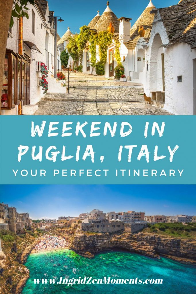 The perfect weekend in Puglia itinerary