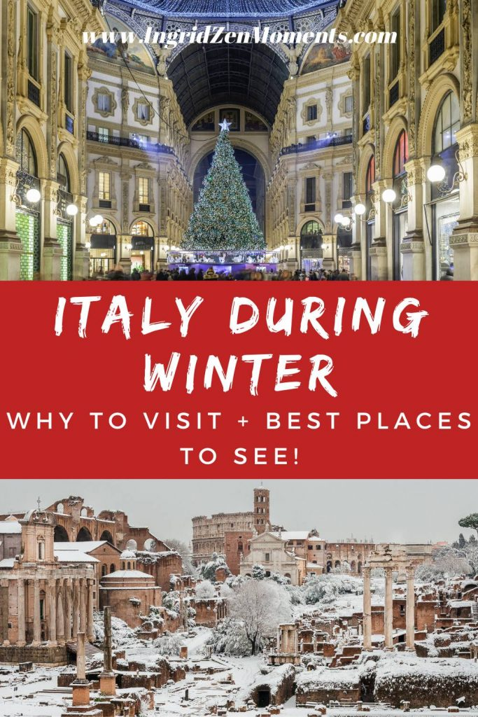 Italy during winter: why to visit Italy in December and best places to visit in Italy in December